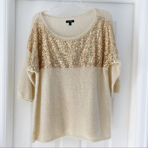 Apt 9 Sequined Sweater XL